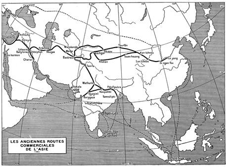 La Vieille Route de l'Inde de Bactres à Taxila : vol.1 / Page 15 (Grayscale High Resolution Image)